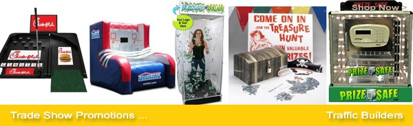 trade show games, tradeshow promotions