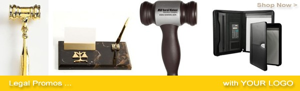 attorney promotional items