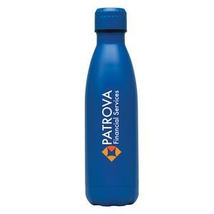 Kenai 17 oz. Double Wall, Stainless Steel Vacuum Bottle