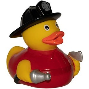 Fireman Rubber Duck