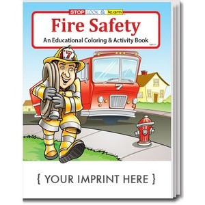 Fire Safety Coloring & Activity Book