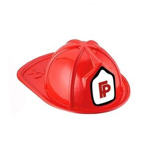 Kids Firefighter Hat Helmet (Red)