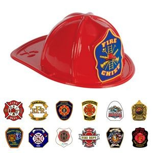 Children Plastic Firefighter Helmet Hat