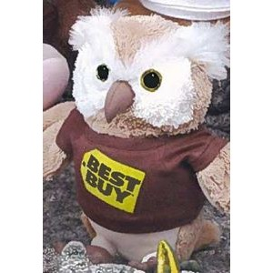 "9"" Q-Tee Collection™ Stuffed Owl"