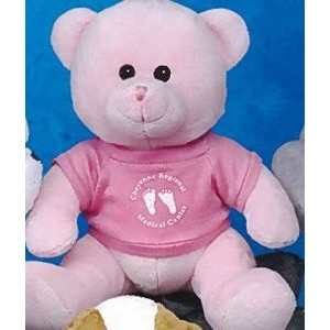 "9"" Q-Tee Collection™ Stuffed Pink Bear"