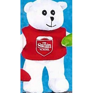 "6"" Thrifty Family™ Stuffed White Bear"