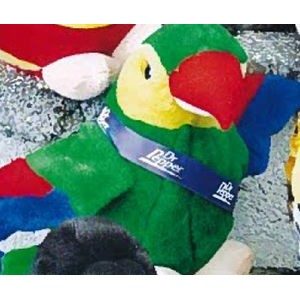 "7"" Nature Pals™ Stuffed Colorful Bird (Green)"