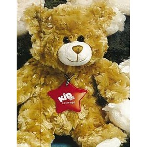 "9"" Fluffy™ Stuffed Brown Bear"