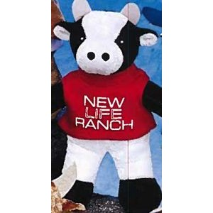 "8"" Team Thrifty™ Stuffed Cow"
