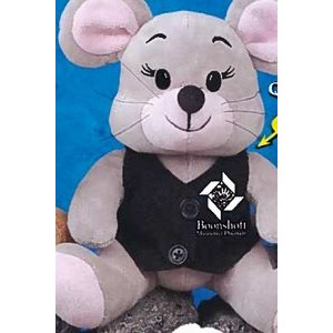 "9"" Q-Tee Collection™ Stuffed Mouse"
