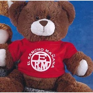 "11"" Tumbles™ Stuffed Chocolate Brown Bear"