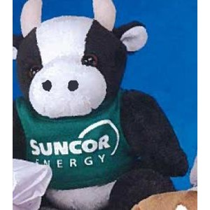 "6"" ""GB"" Brites™ Plush Beanies™ Stuffed Cow"