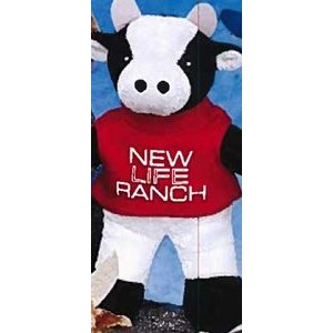 "6"" Team Thrifty™ Stuffed Cow"