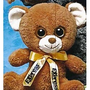 "8"" Oogles™ Stuffed Brown Bear"