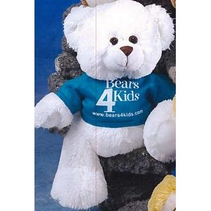 "11"" Tumbles™ Stuffed White Bear"