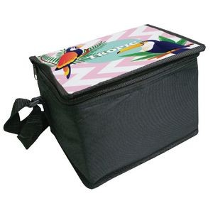 6 Pack Cooler- Full Color on Top
