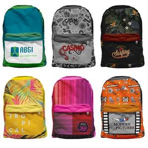 Sublimated Colorburst Backpack