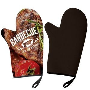 BBQ Mitt- Rubber Insulation-Full Color